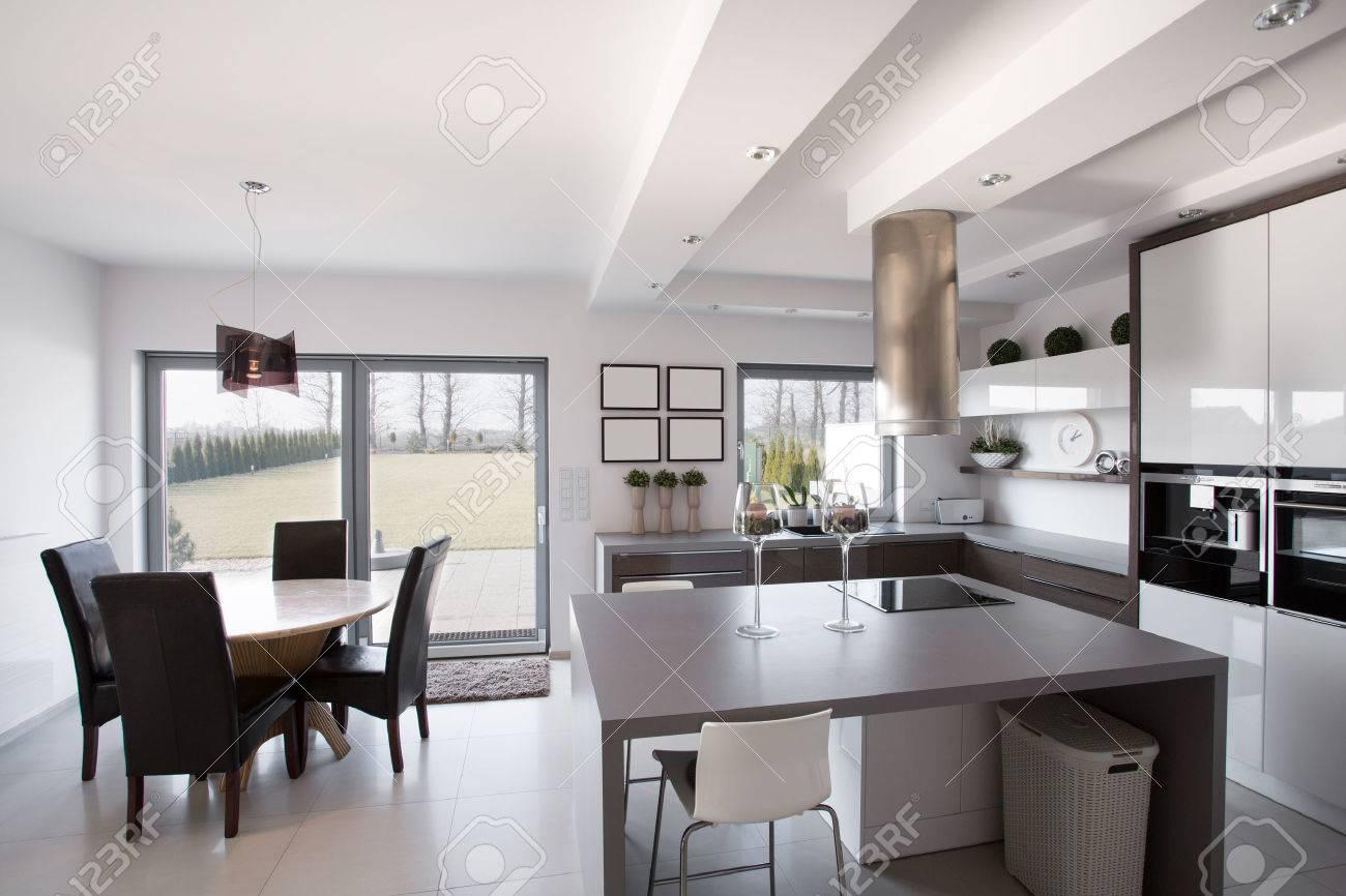 Soggiorno E Cucina Moderna | Cucina Con Soggiorno Foto Design Mag