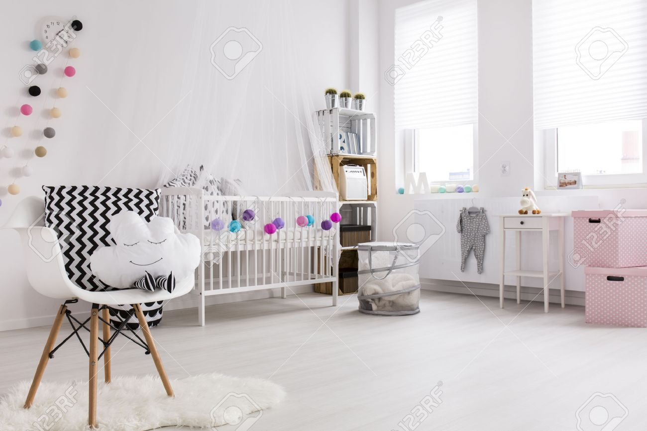 Baldachin Schlafzimmer Stock Photo
