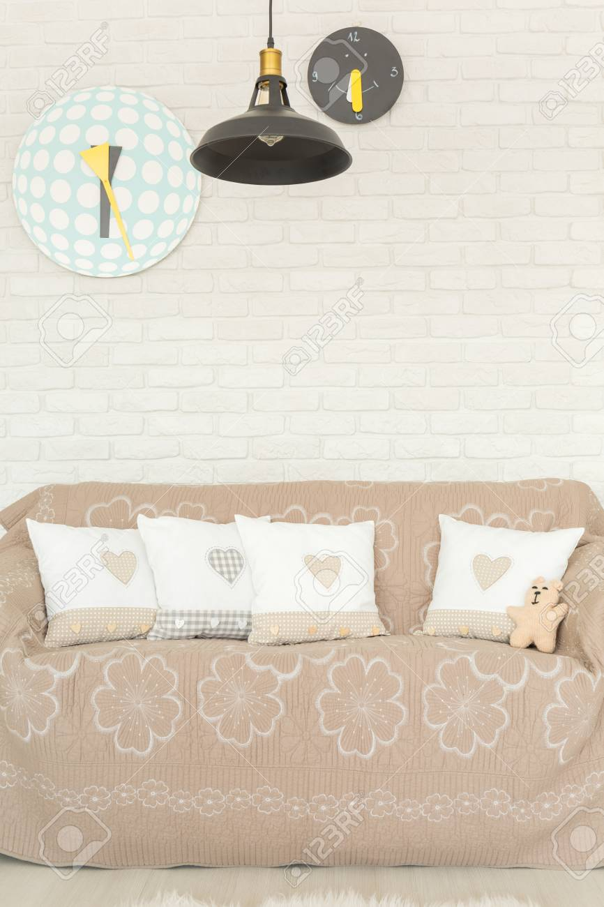 Lampe Kinderzimmer Stock Photo