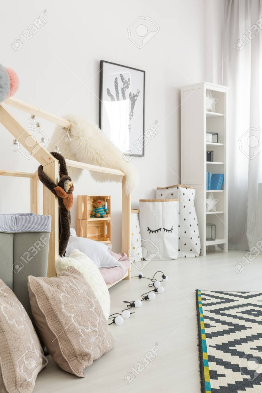 Babies Room Accessories Pastel And White Accessories In Spacious Clean Modern Baby Room