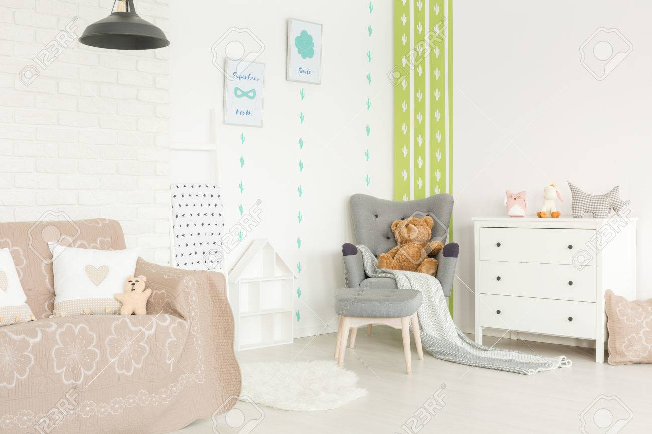 Babies Room Accessories Bright And Cozy Interior Of Baby Room With Pastel Accessories