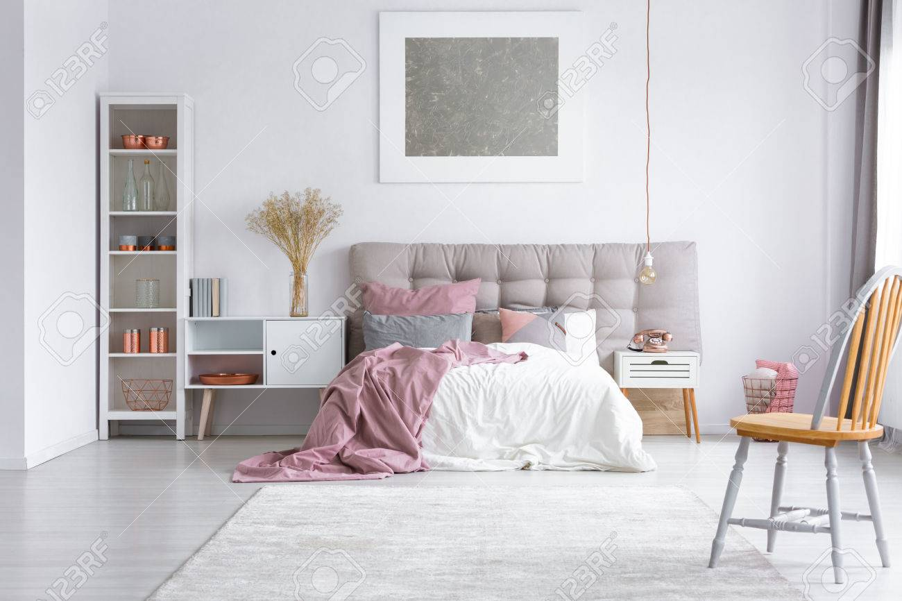 Schlafzimmer Stuhl Stock Photo