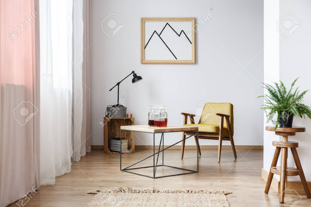 Designer Sessel Stock Photo