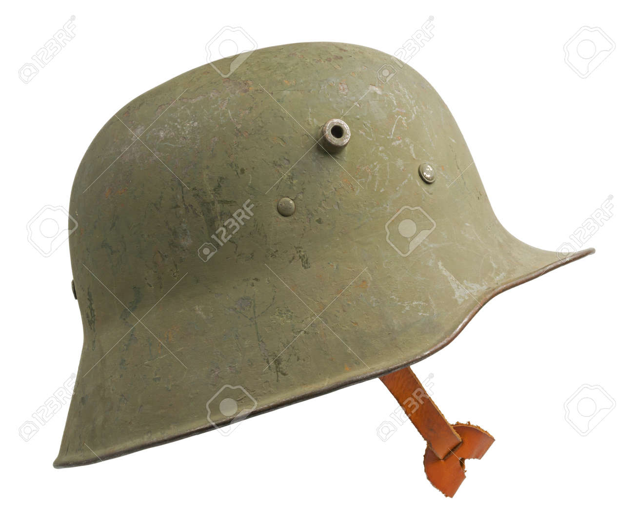 Strahlhelm A German World War One Stahlhelm M1918 Military Helmet The