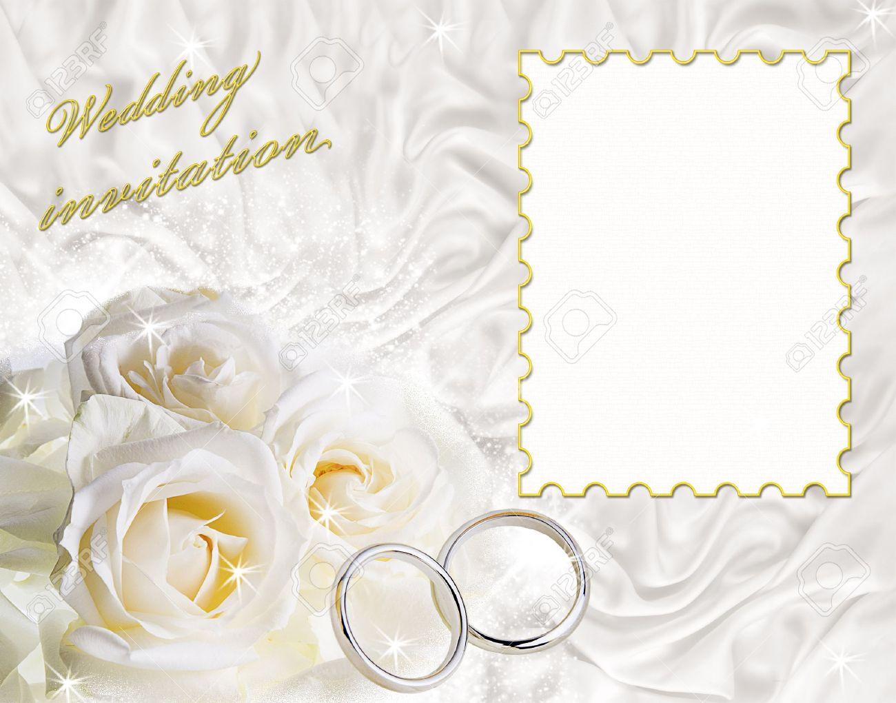 wedding invitation frame Wedding invitation frames vector