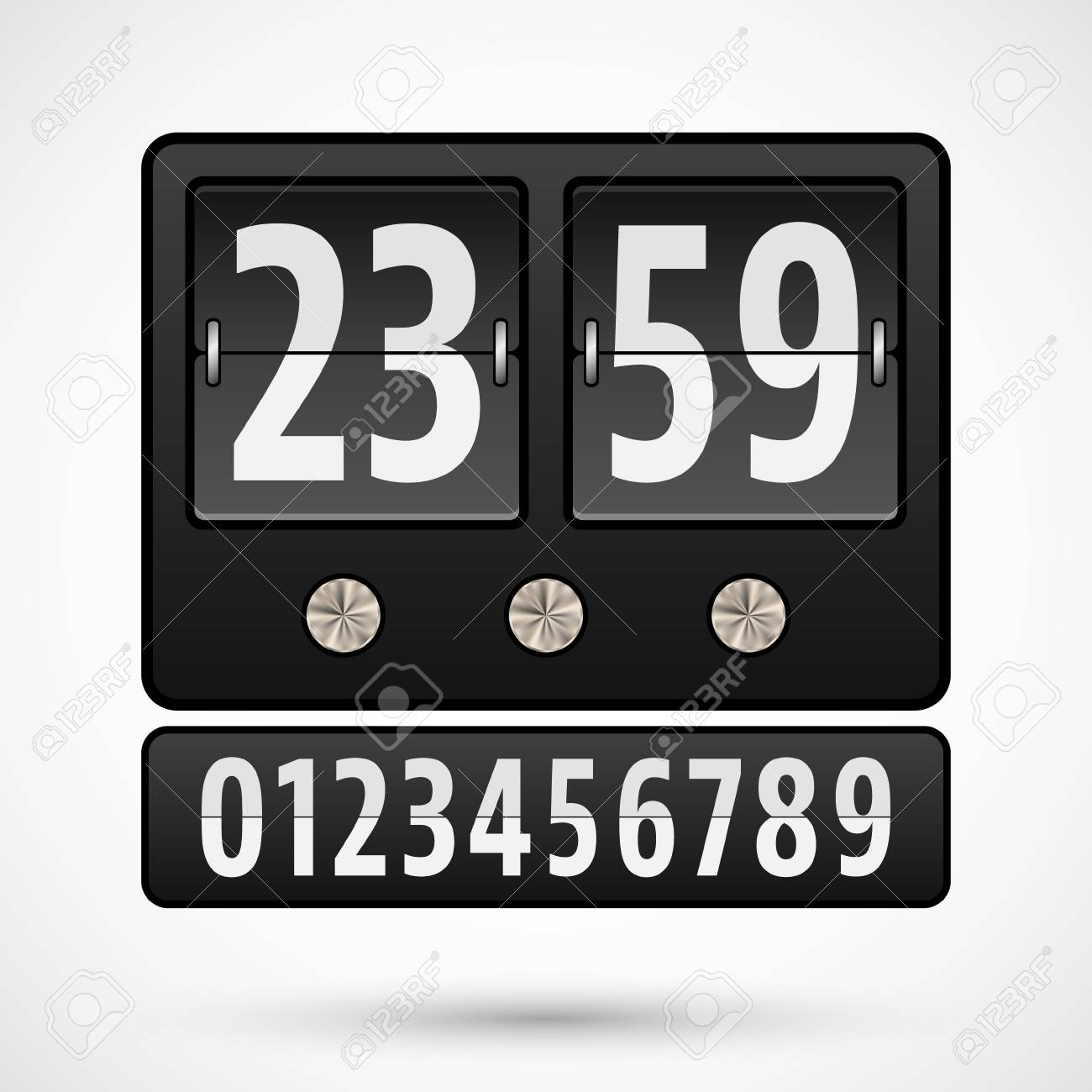 Flip Clock Flip Clock Or Countdown Timer