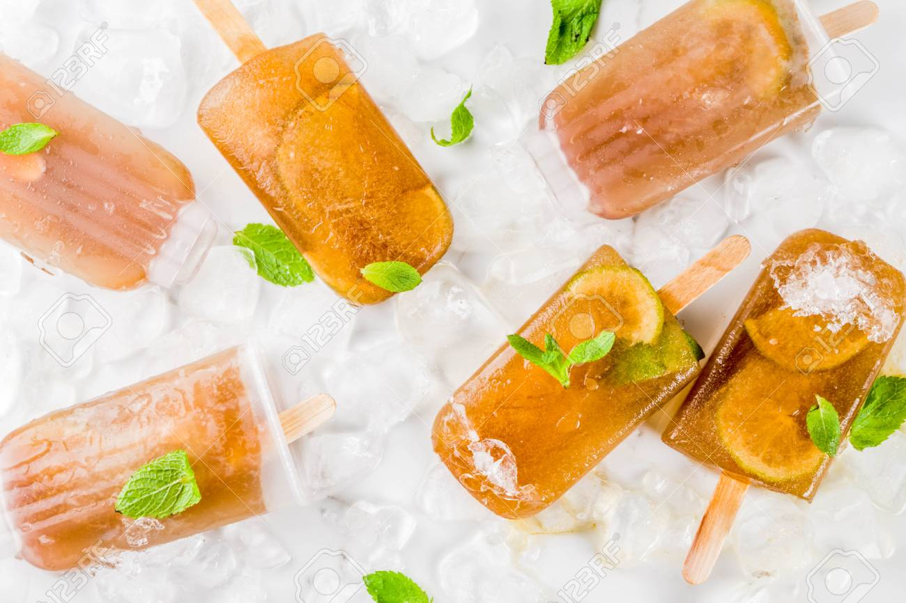 Frozen Libre Frozen Refreshing Drinks Summer Cocktail Popsicles Recipe Cuba