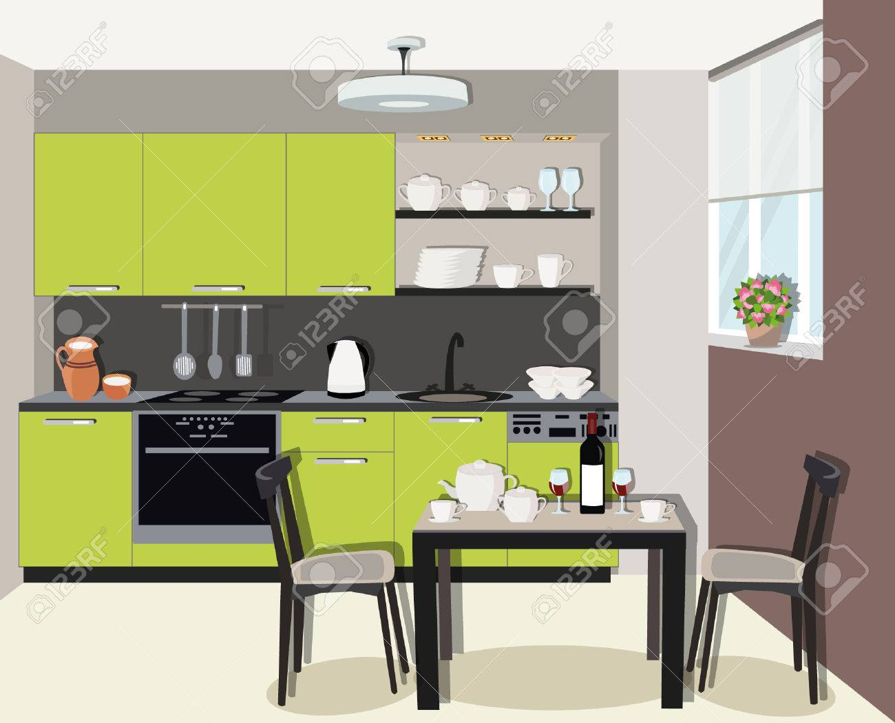 Design Interieur Cuisine | Cuisine Rustique Lac Beauport Designer D ...