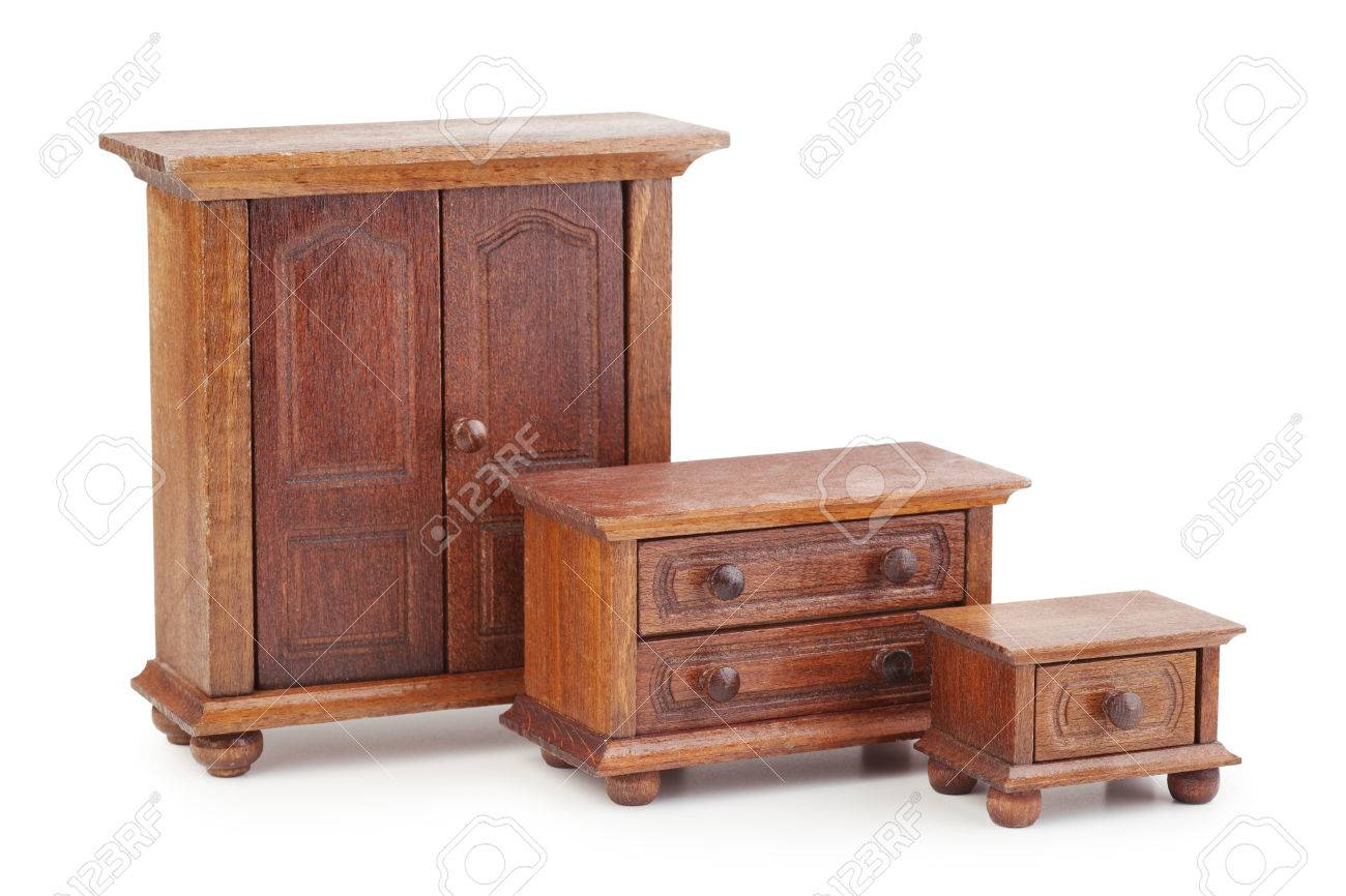 Kleiderschrank Und Kommode Stock Photo