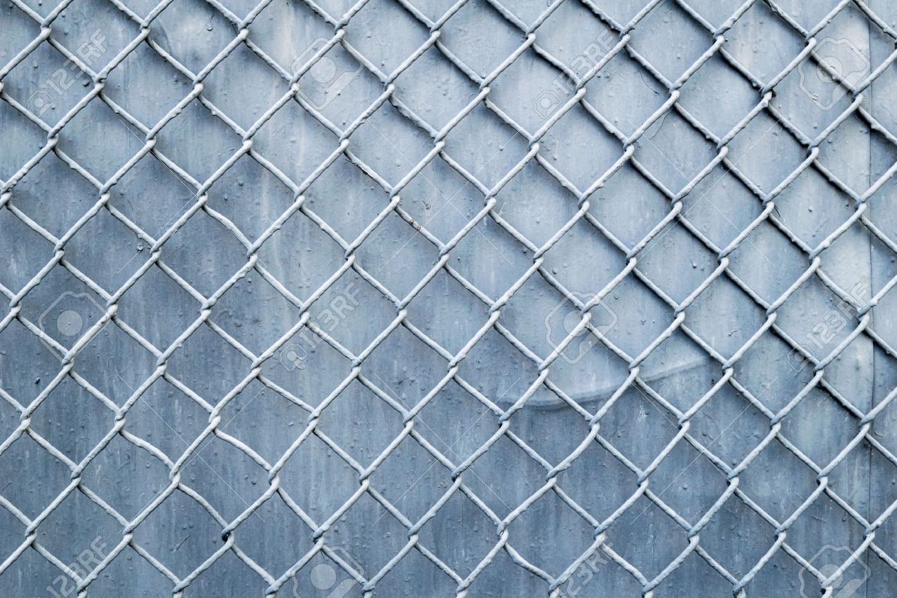 Wire Fencing Steel Wire Mesh Fence Wall Background