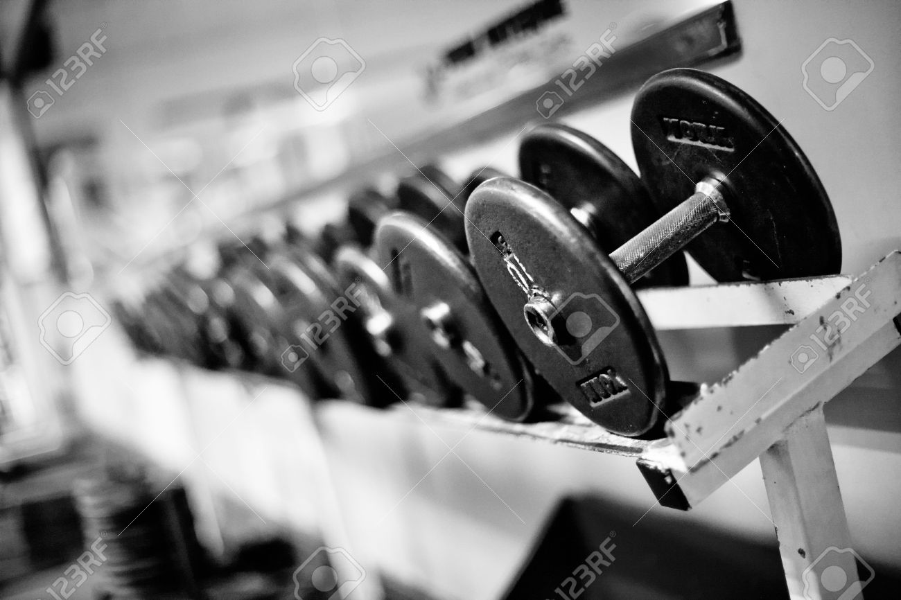 Free Photography Stock Weights And Free Weights In A Gym