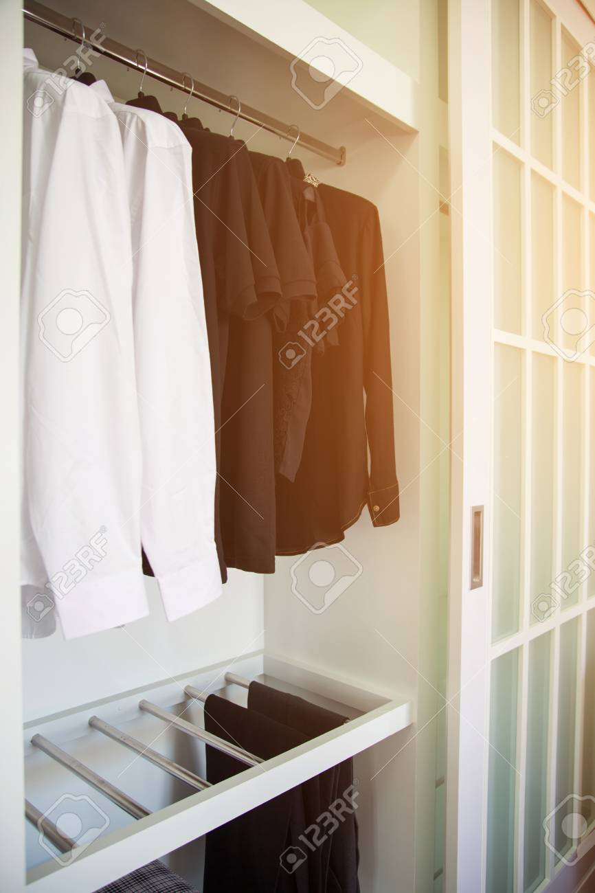 Designer Kleiderschrank Stock Photo