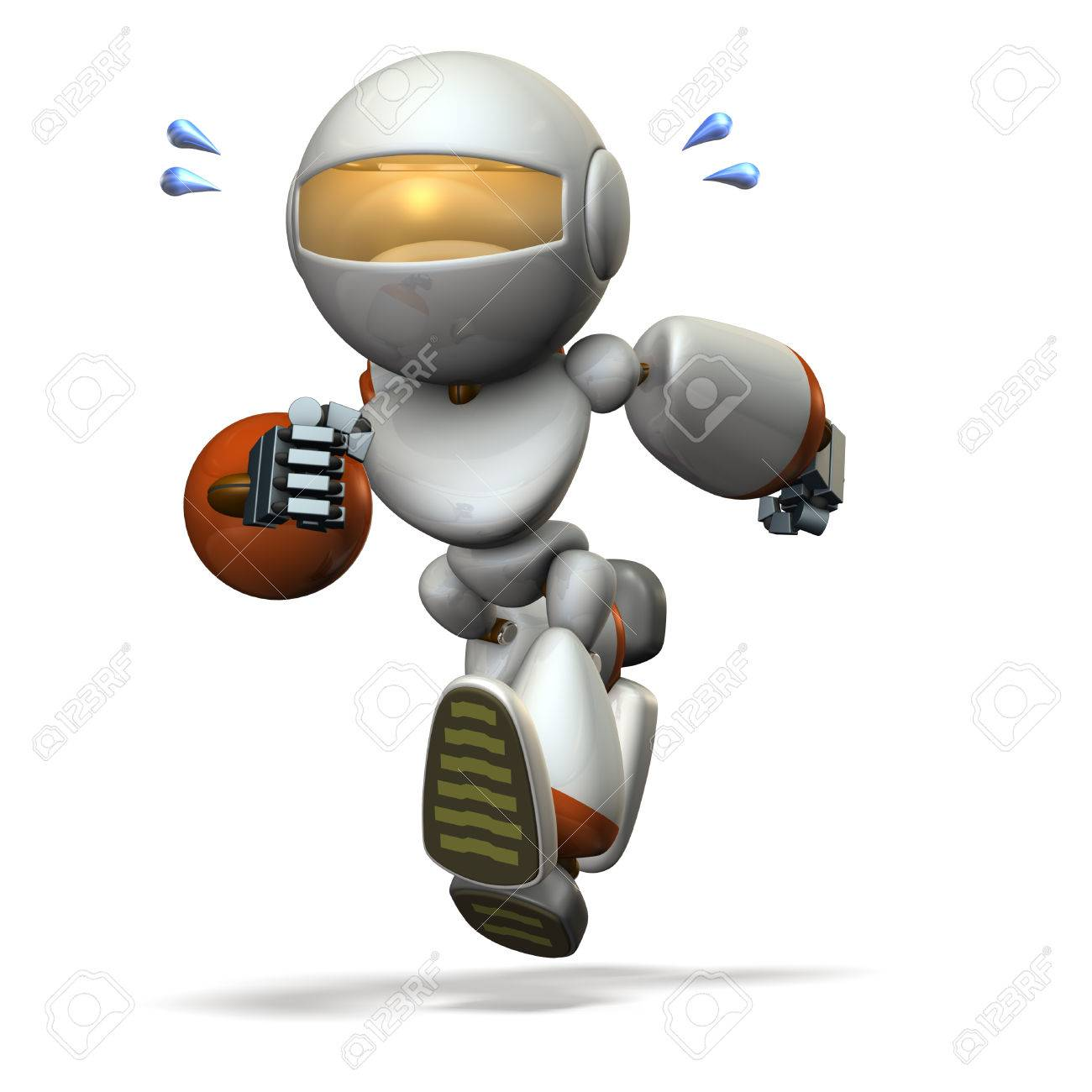 Children Robot Stock Illustration