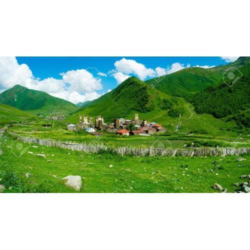 Medium Crop Of Country Landscape Photo