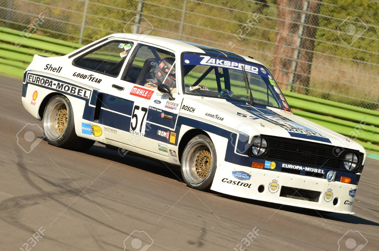 Imola Classic 22 Oct 2016 Ford Escort 1800 Rs 1975 Driven Stock Photo Picture And Royalty Free Image Image 99023333