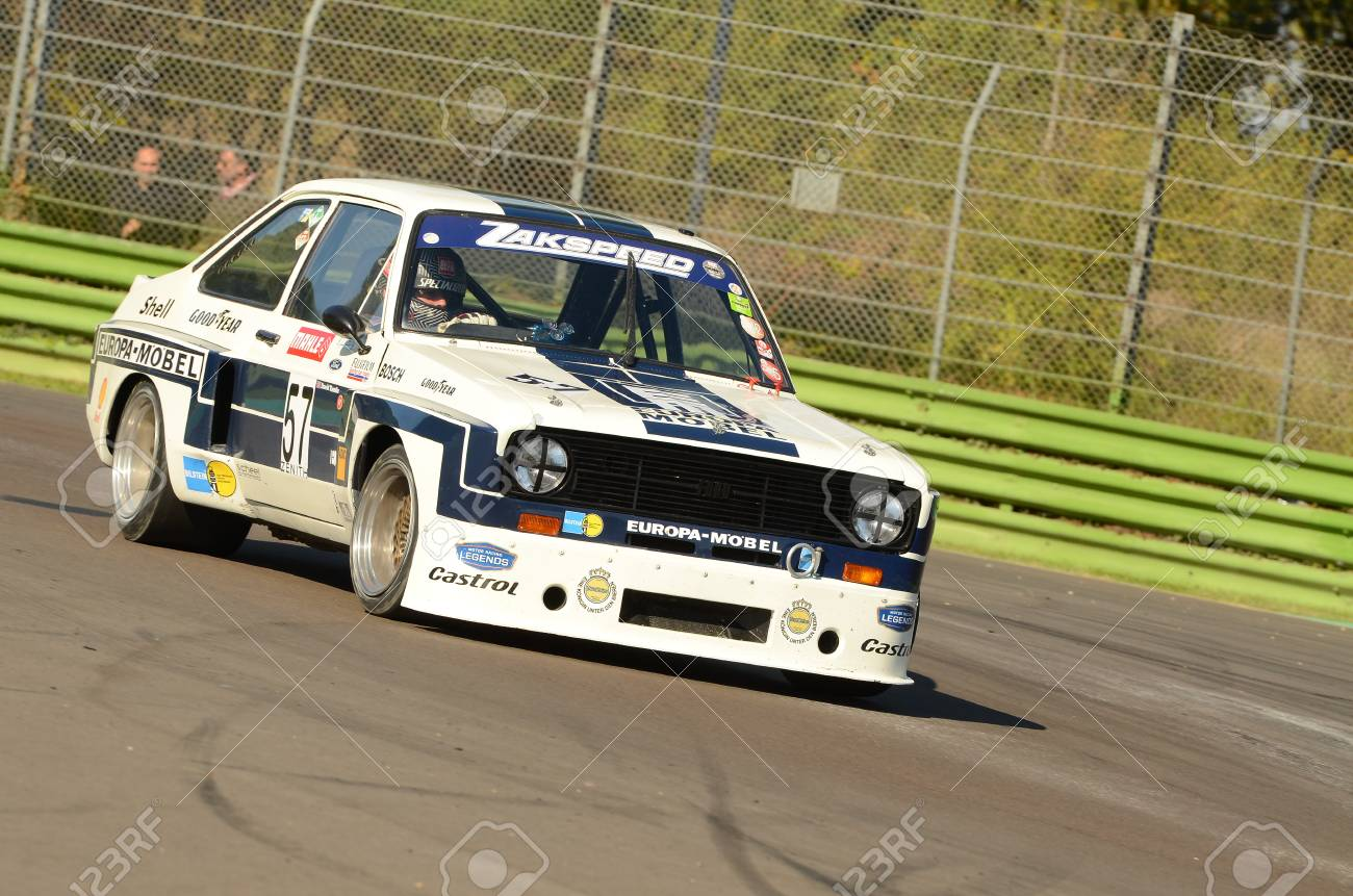 Imola Classic 22 Oct 2016 Ford Escort 1800 Rs 1975 Driven Stock Photo Picture And Royalty Free Image Image 99023341