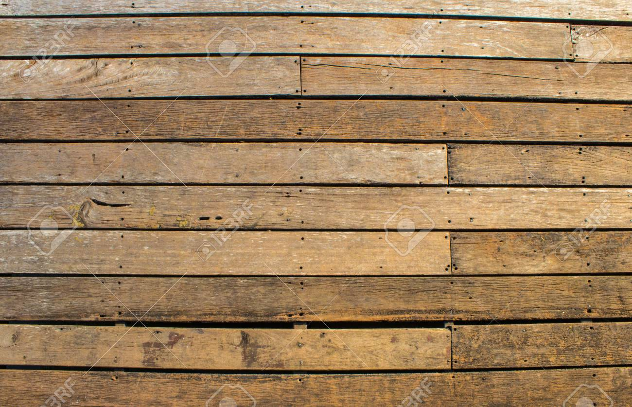 Holz Wand Latten Stock Photo