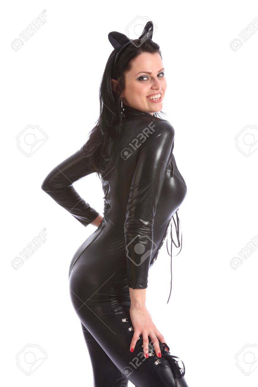 Catwoman Ohren Stock Photo