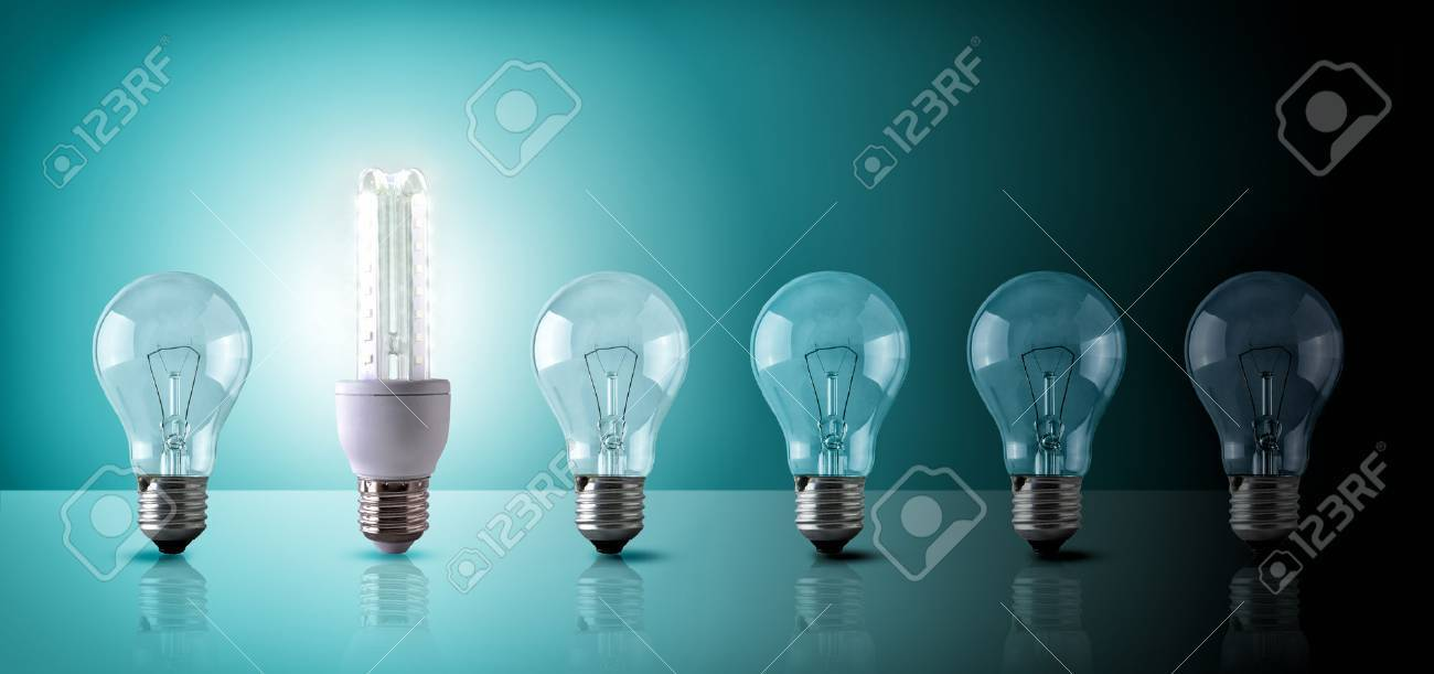 Glastisch Led Stock Photo