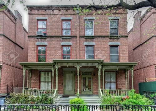 Medium Of Row House Harlem