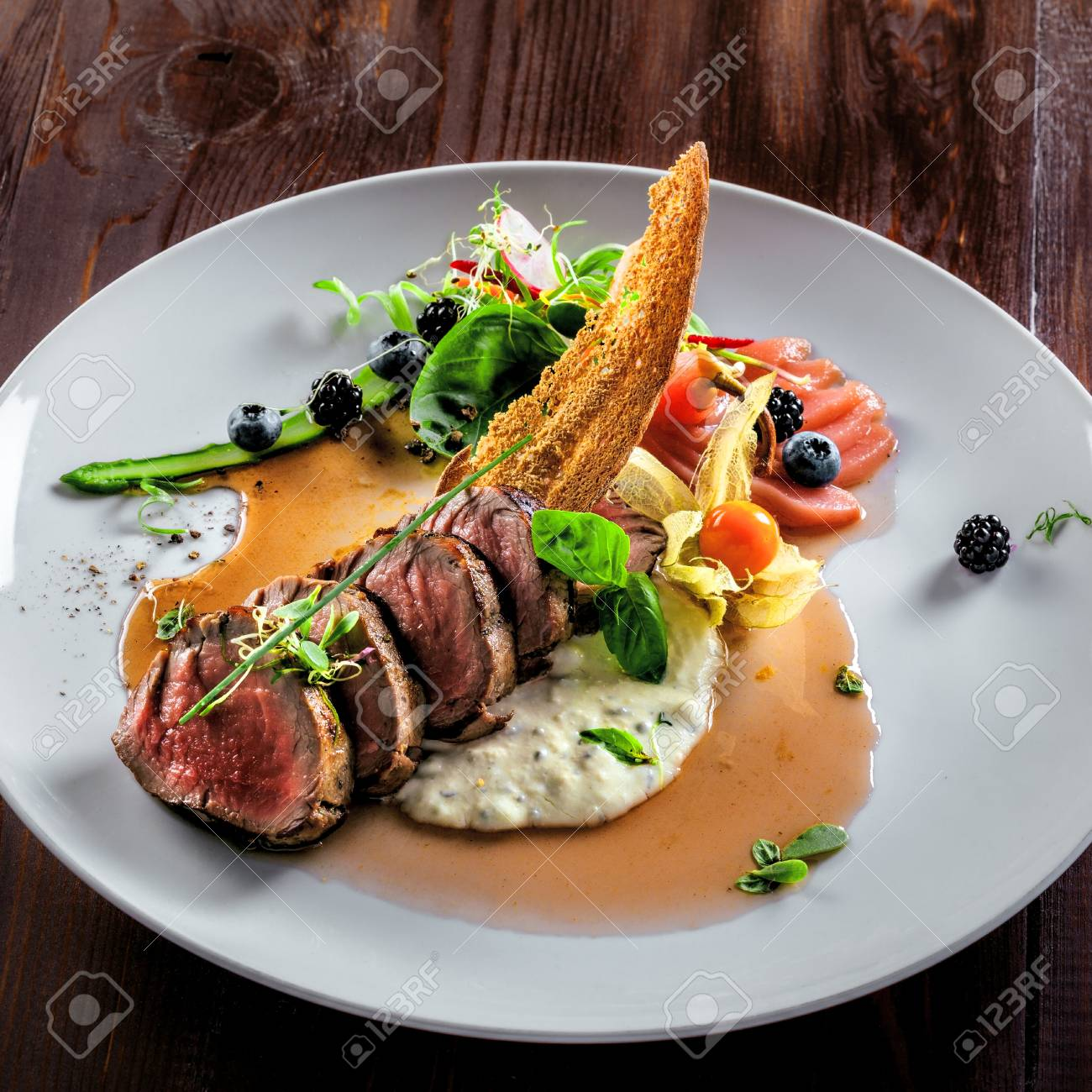 Gesundes Leckeres Essen Stock Photo