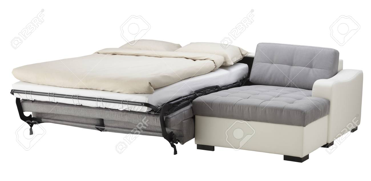 Couch Bett Stock Photo