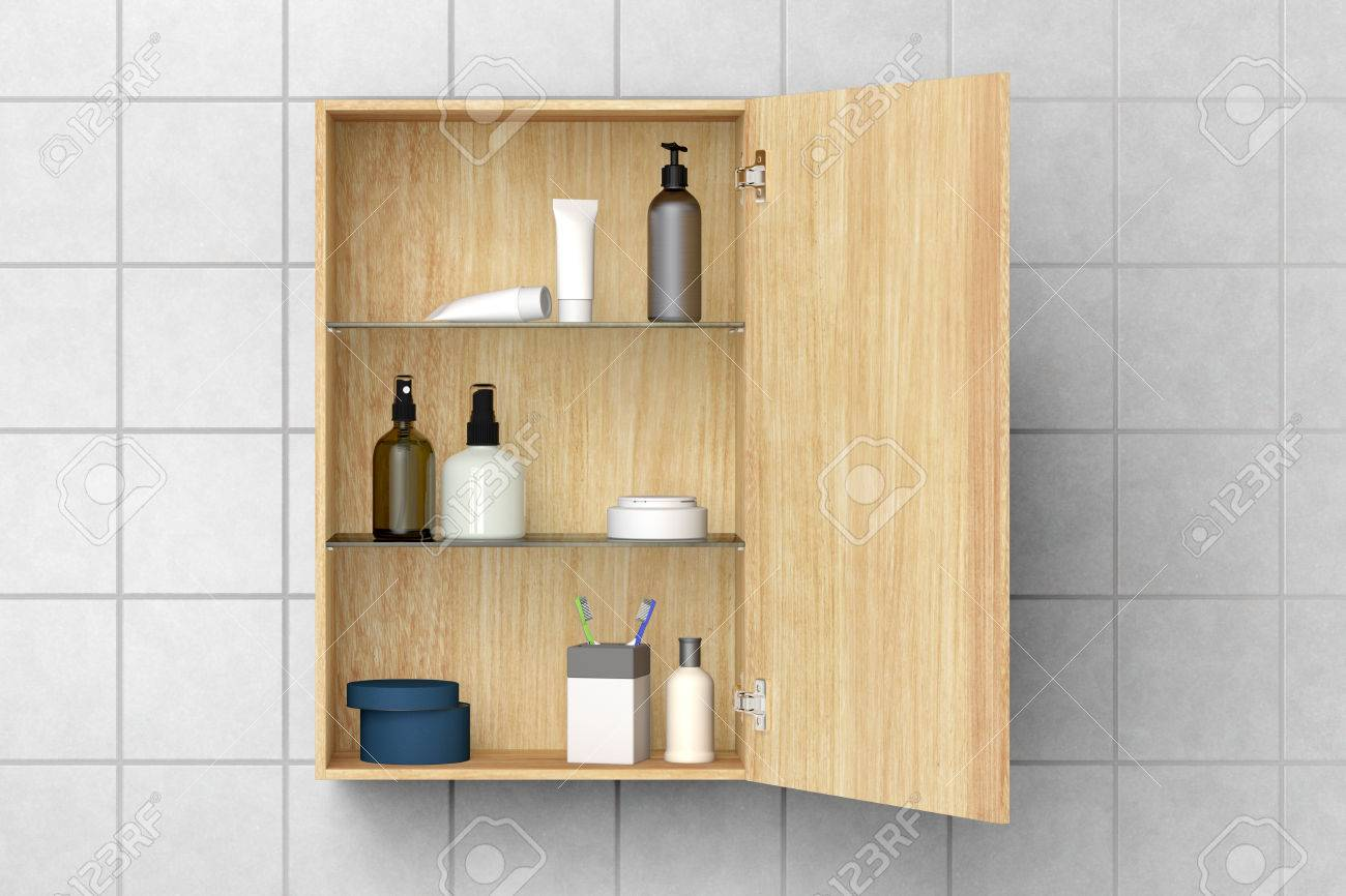 Schrank Bad Stock Photo