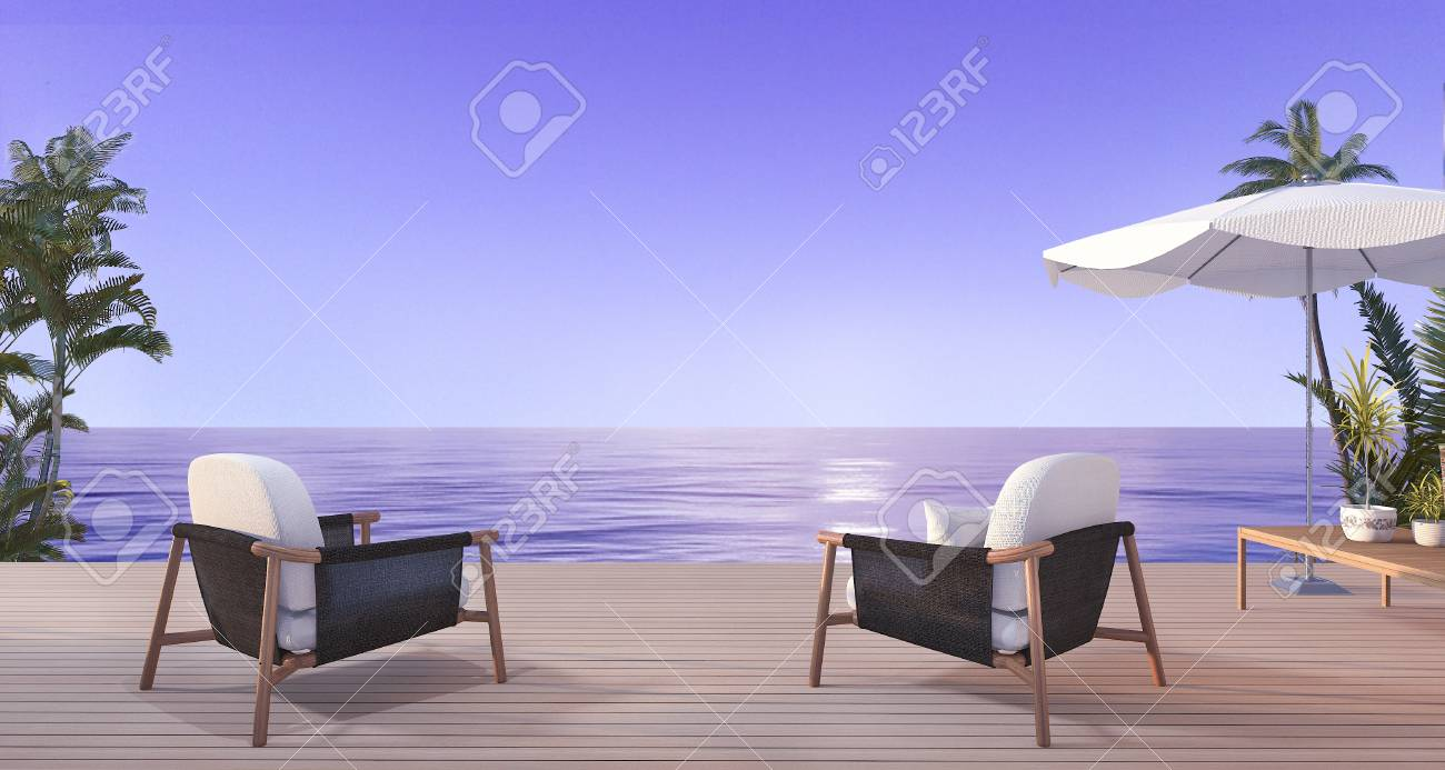 Thailand Sessel Stock Photo