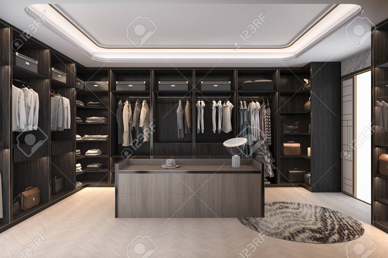 Schrank Garderobe Stock Photo
