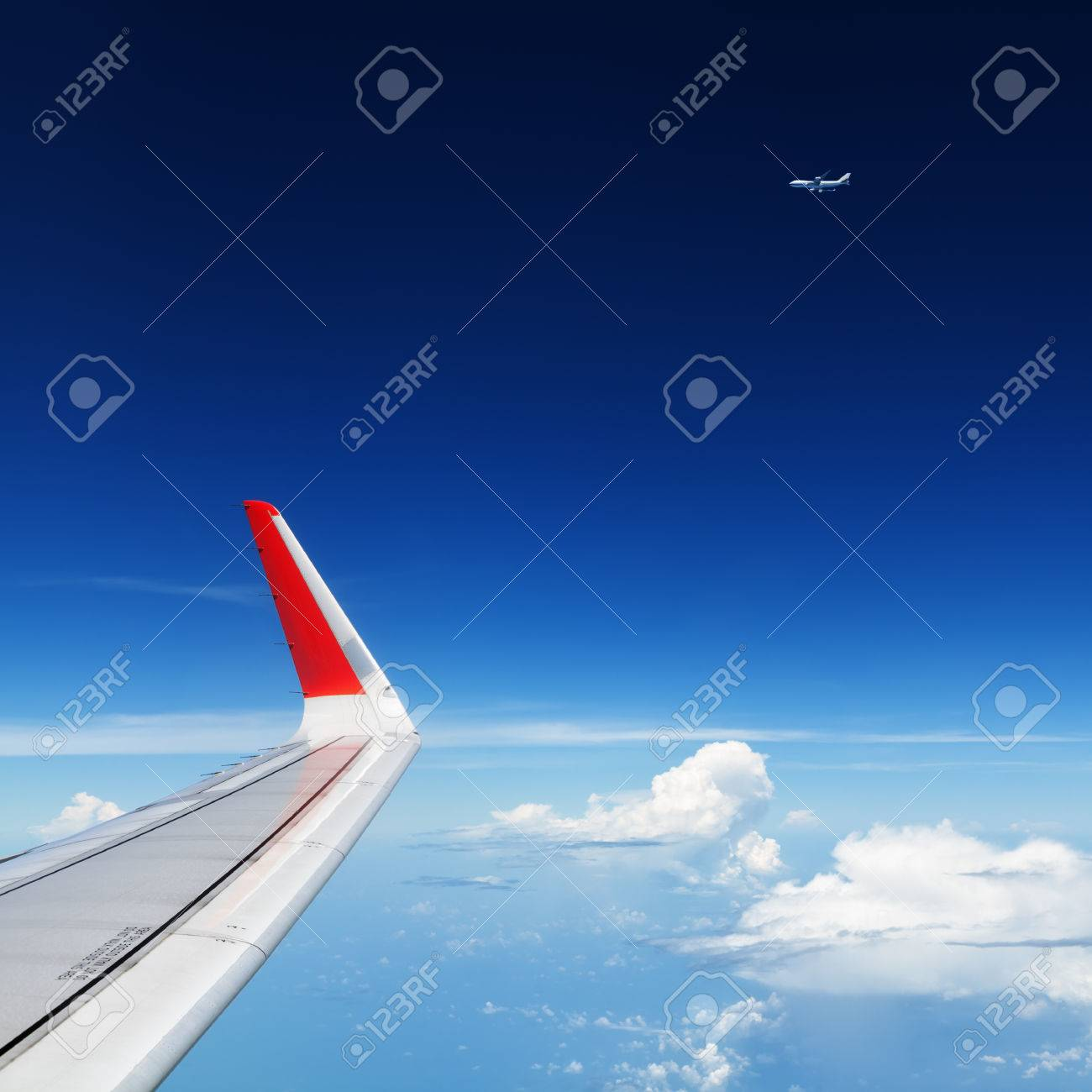 Fliegen Erde Stock Photo