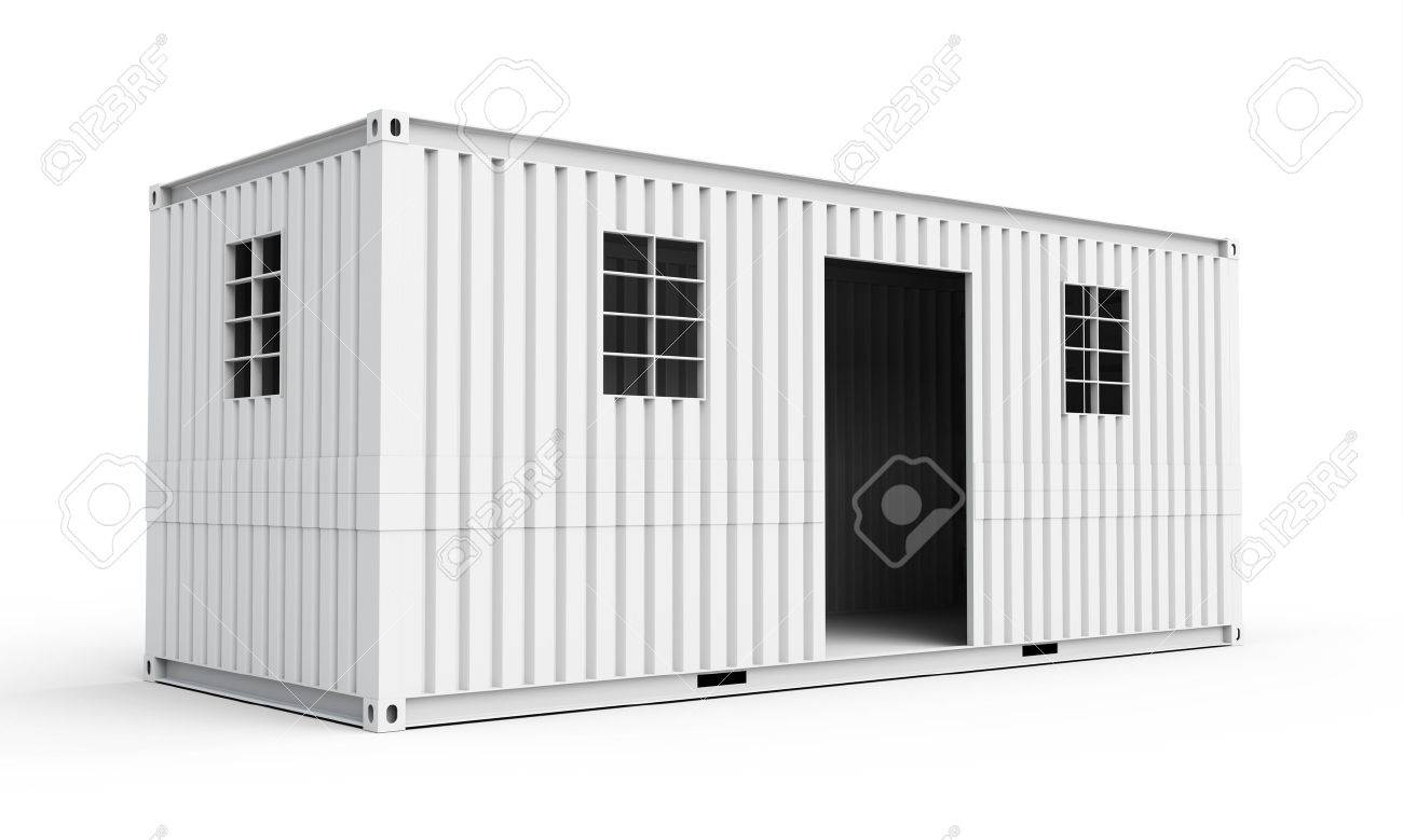 Container Haus Bilder Stock Photo