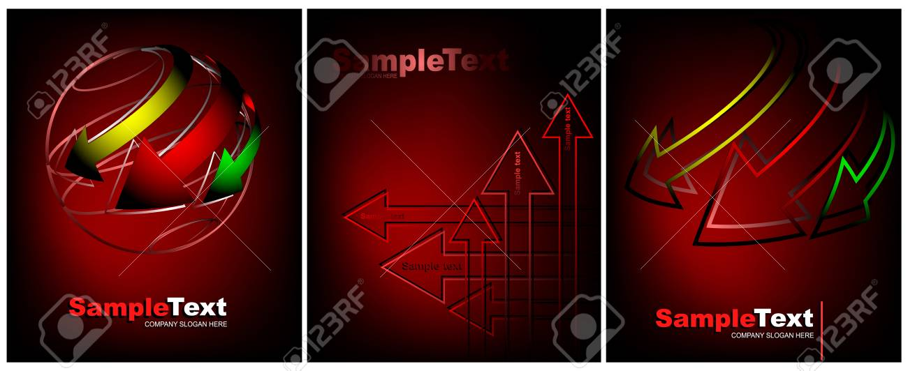 Premium Business Card And Creative Backgrounds For Design Vector