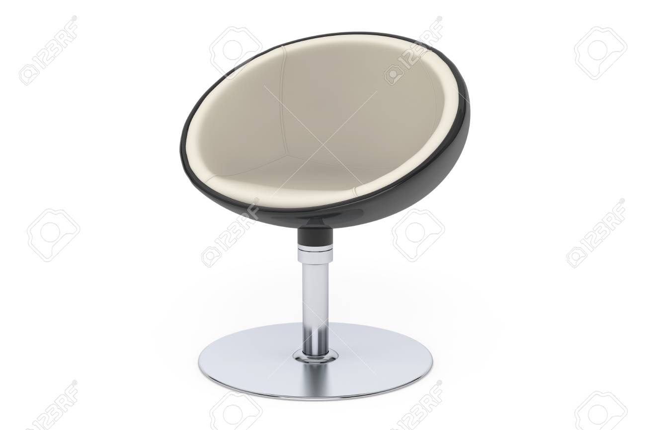 Ball Chair Modern Ball Chair On A White Background Stock Photo, Picture And Royalty Free Image. Image 50519478.