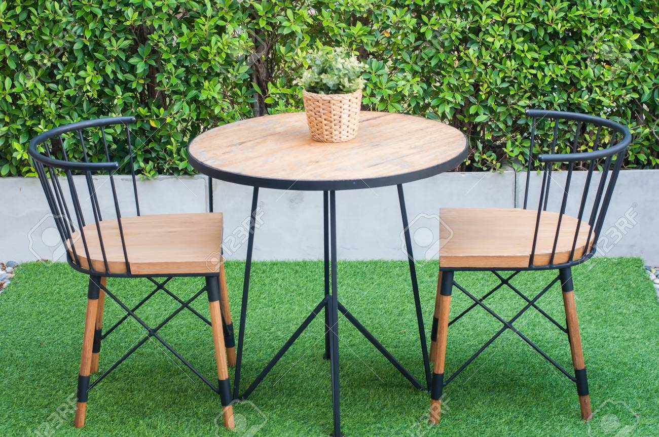 Modern Table And Chairs Modern Coffee And Tea Table Set With Chairs And Flower Rattan