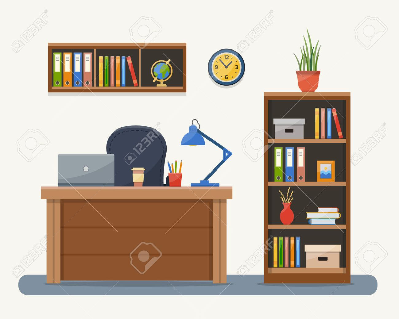 Tisch Schrank Stock Photo