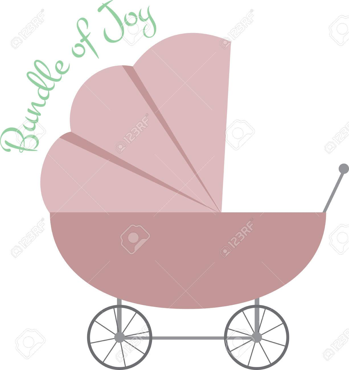 Babydecken Für Kinderwagen Stock Photo