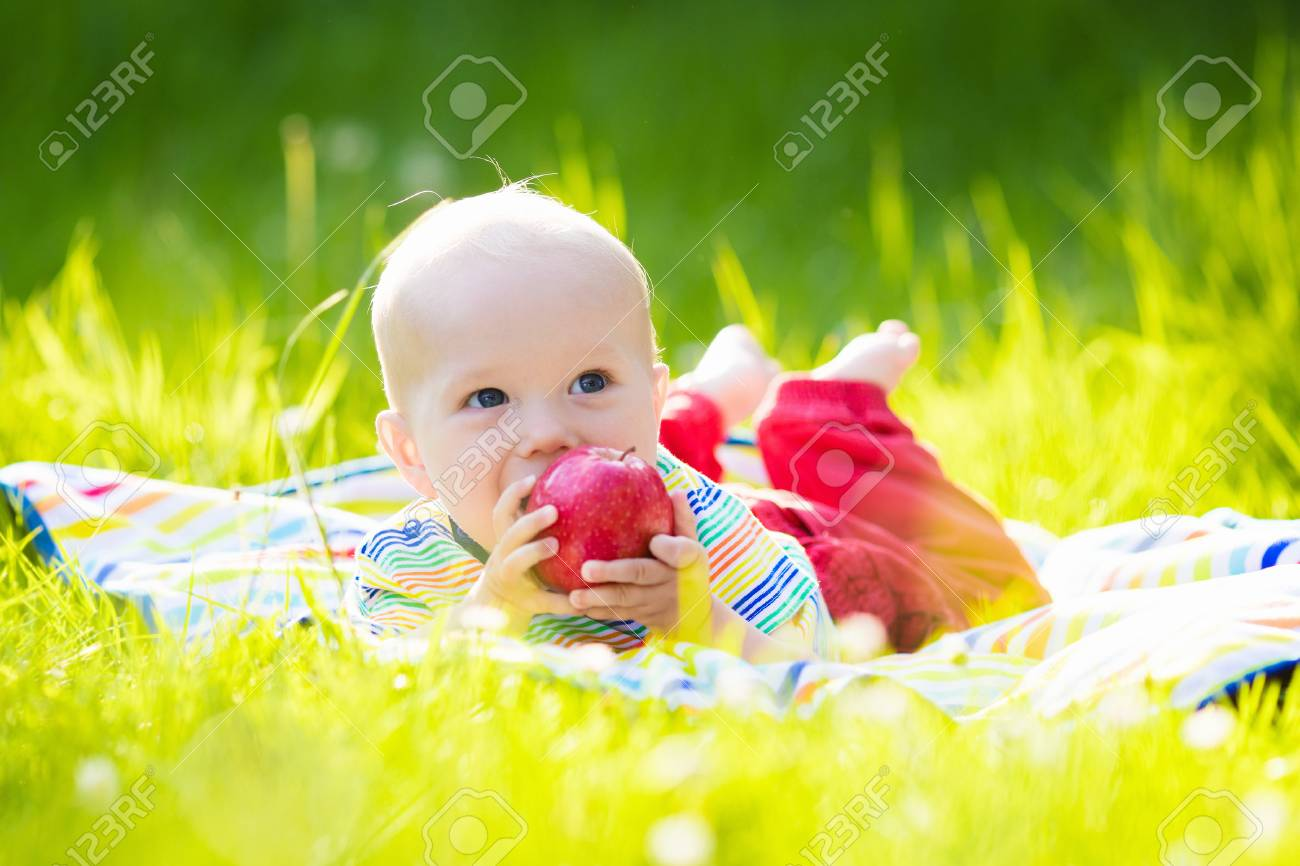 Kinder Sommerdecke Stock Photo
