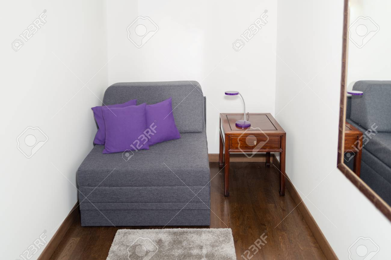 Moderne Bequeme Sessel Stock Photo