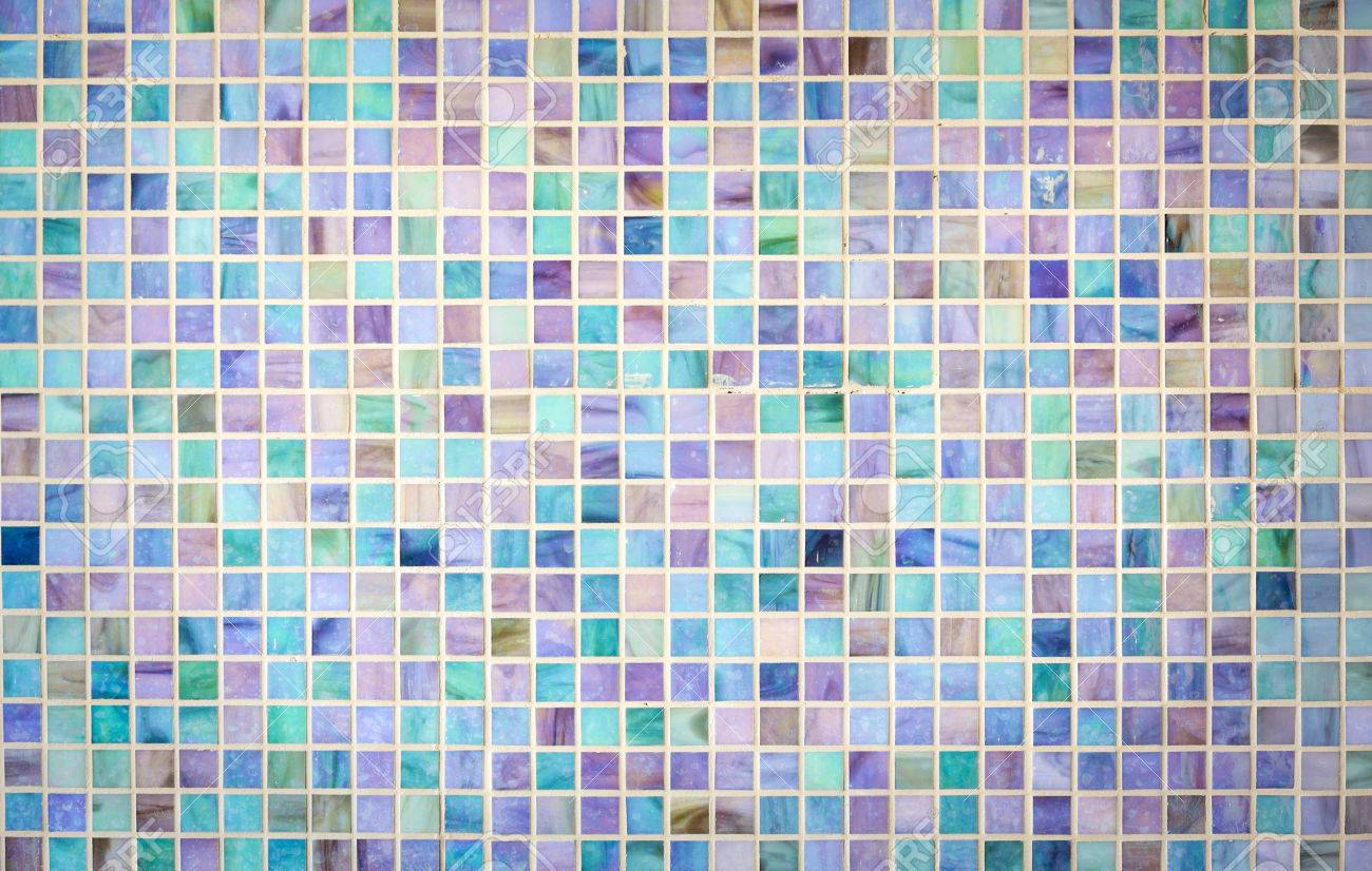 Carreau De Verre Colorful Mur De Carreaux De Mosaïque De Verre