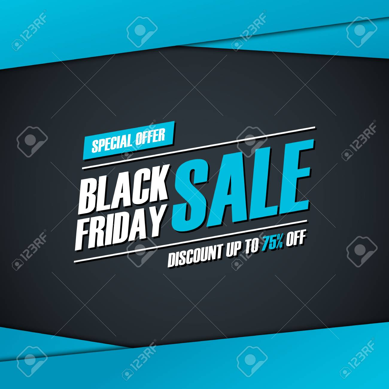 Black Friday Rabatt Stock Photo