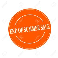 Small Of End Of Summer Sale