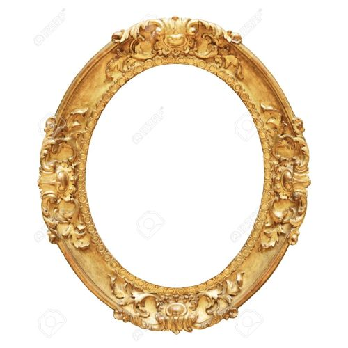 Medium Crop Of Oval Picture Frame