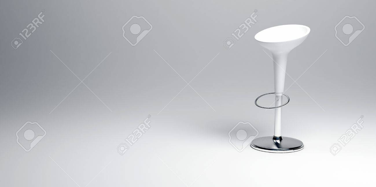 Hocker Chrom Stock Photo