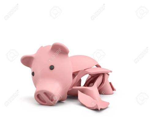 Medium Of Large Piggy Bank
