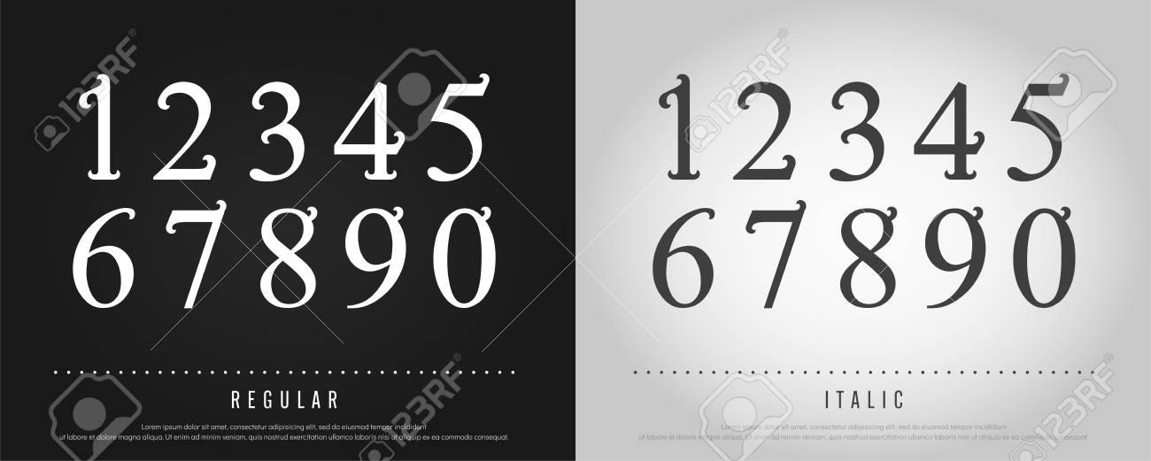 Numbers Alphabet Letters Set Exclusive Custom Letters Alphabet