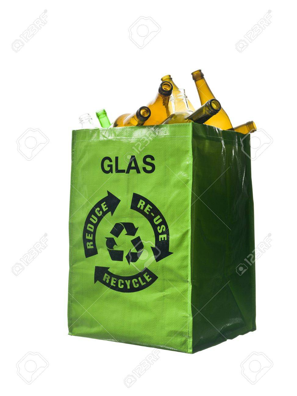 Tasche Recycling Stock Photo