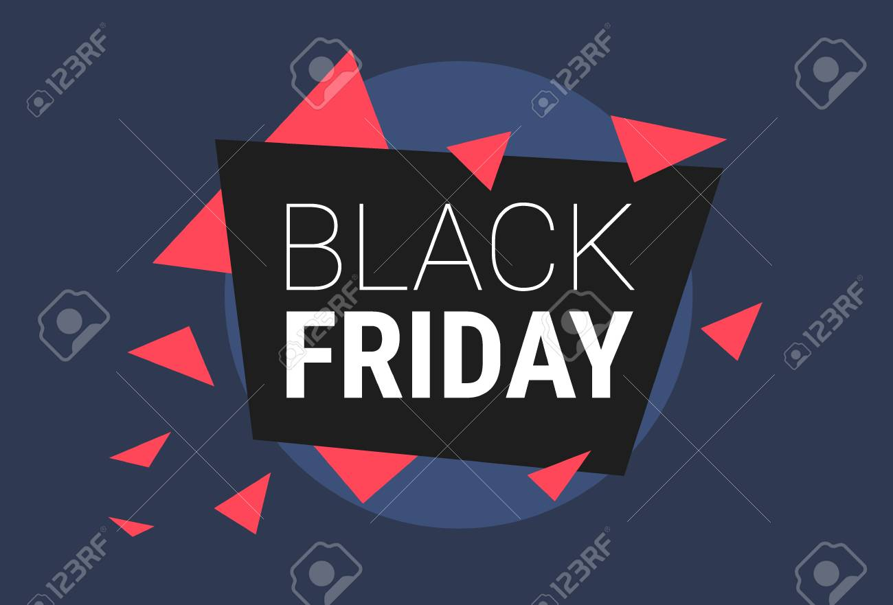 Black Friday Specials Stock Photo