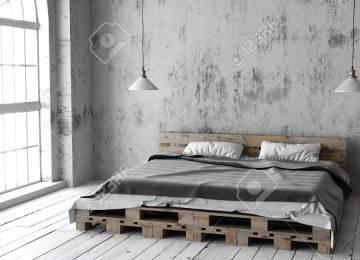 Chambre à Coucher Style Industriel   Papier Peint Style Industriel 4 ...