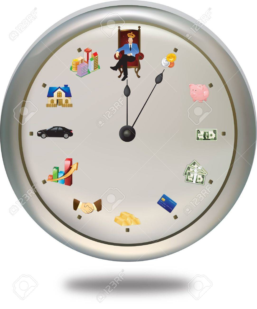Special Clock Time Is Money This Special Clock Shows How A Person Can Achieve