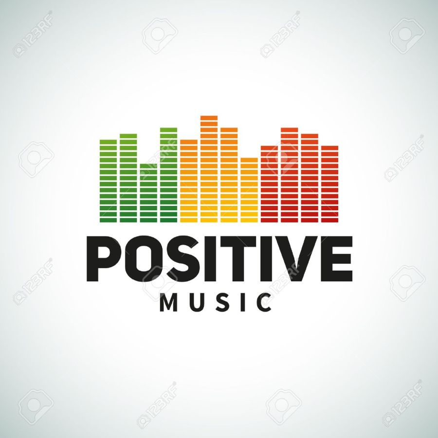 Reggae music equalizer logo emblem vector design. Positive dub illustration. Stock Vector - 41741156